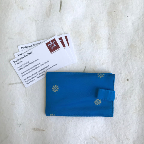 Paithani Card Holder