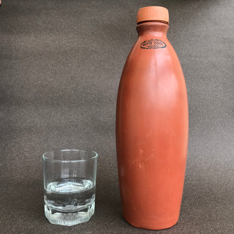 Terracotta Clay Bottle