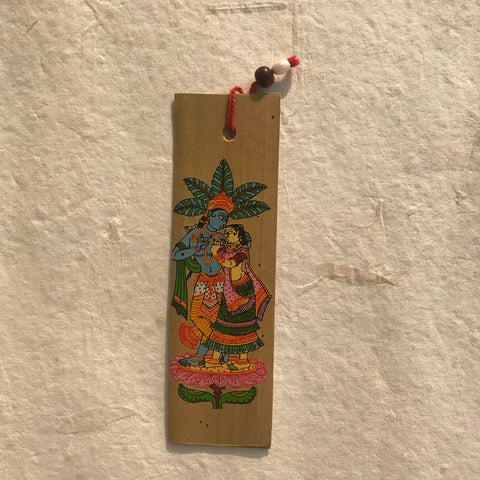 Pattachitra Palm Leaf Bookmark