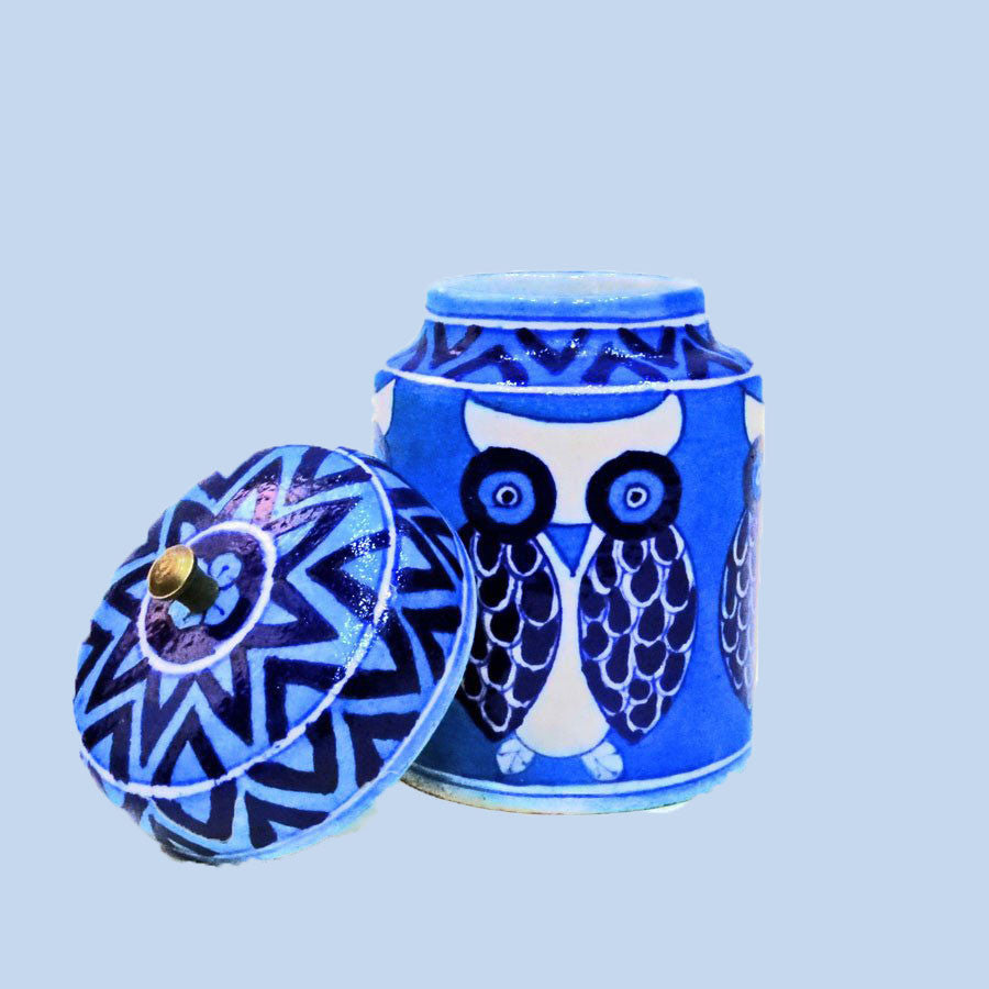 Decorative Jar Owl