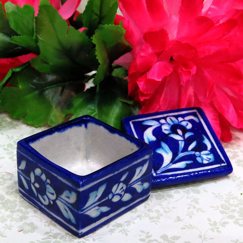 Blue Pottery Mini Box