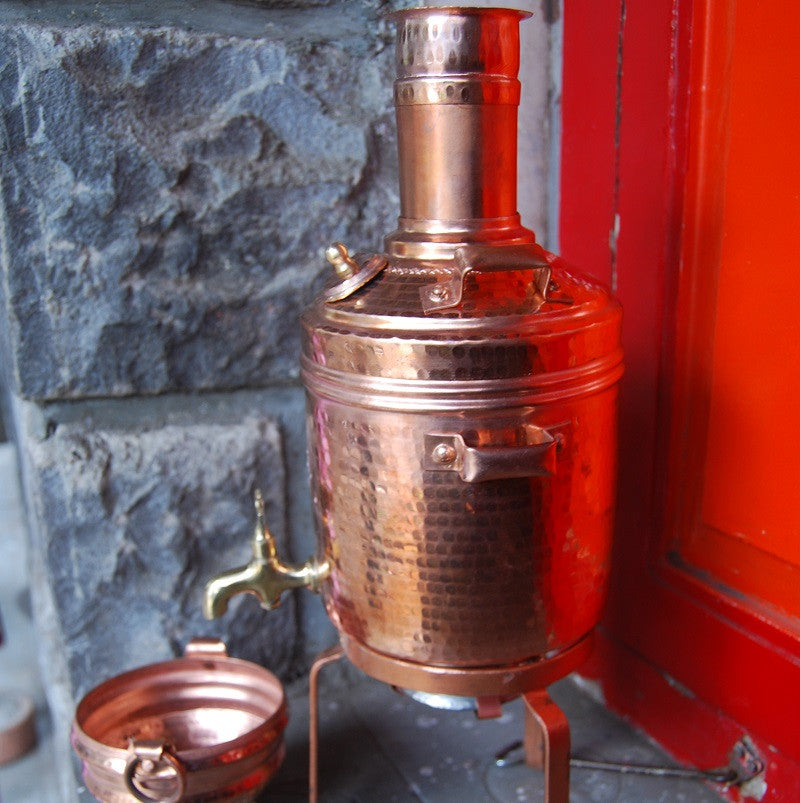 Miniature Water Heater With Miniature Copper Pot Heart