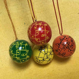 Decorative Rangoli Balls :: Set of 4