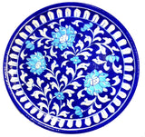 Decorative Plate Large Floral