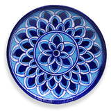 Decorative Plate Medium Light Blue