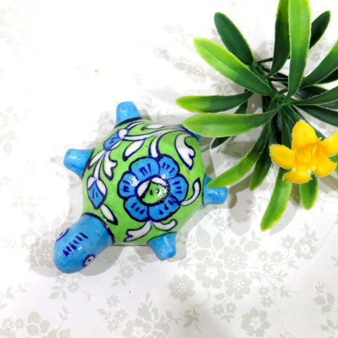 Turtle PaperWeight Green