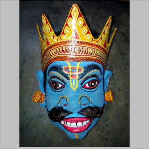 Raja Mask- Blue
