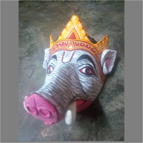 Varaha (Boar) Avatar of Vishnu Bhaona Mask