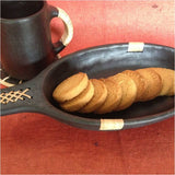 Oval  Tray 2 Side Cane