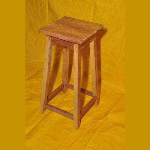 Solid Wood High Stool Type 2