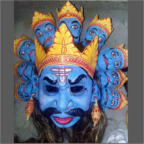 Ten-Headed Mask of Ravana