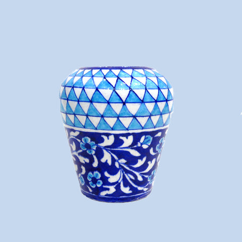 Light Blue Vase Small