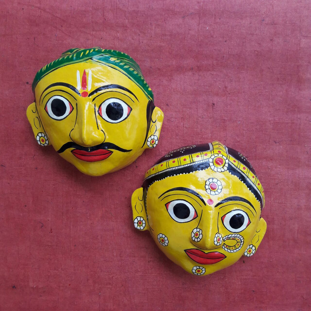 Man and Woman Cherial Mask -  very Big