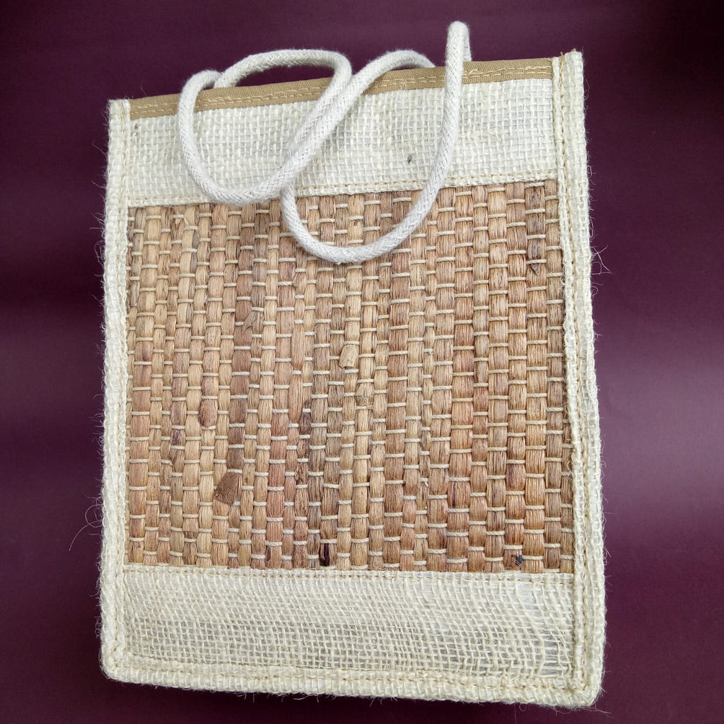 Water Hyacinth & Jute Tiffin Bag