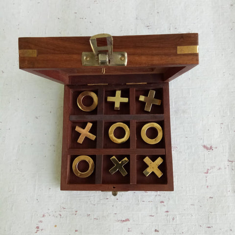 Wooden XO Game