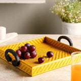 Square Handle Tray Large