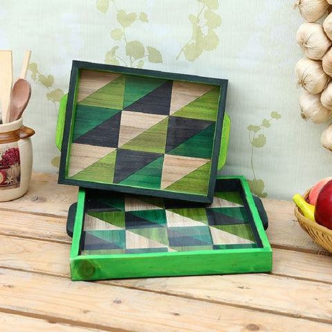 Tollywood Barfi Tray (Set of 2)