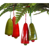 Handcrafted Wooden Christmas Decor : Wood Chimes ( 2 pairs)