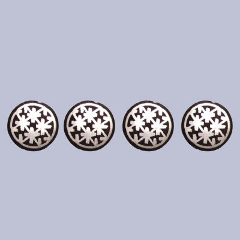 Bidri Kurta Buttons Set of 4