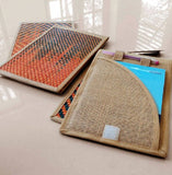 Jute Notepad Holder