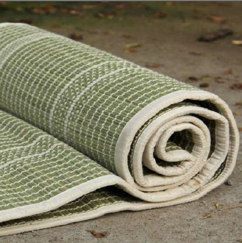 "Darbha Grass Mat - Large - 72"" x 72"" with Cotton bag"