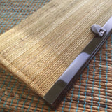Banana Fibre Framed Clutch