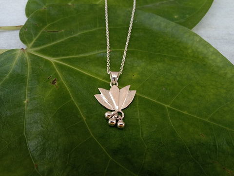 Lotus Drop Necklace