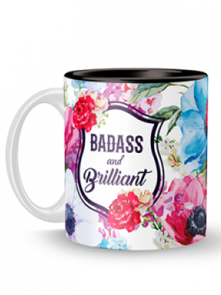 Badass & Brilliant Mug