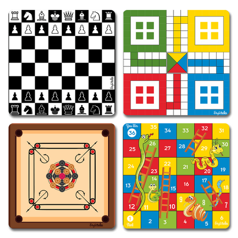 Board Games Acrylic Coasters