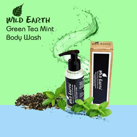 Green Tea Mint Face & Body Wash (For Oily, Combination Skin) Unisex