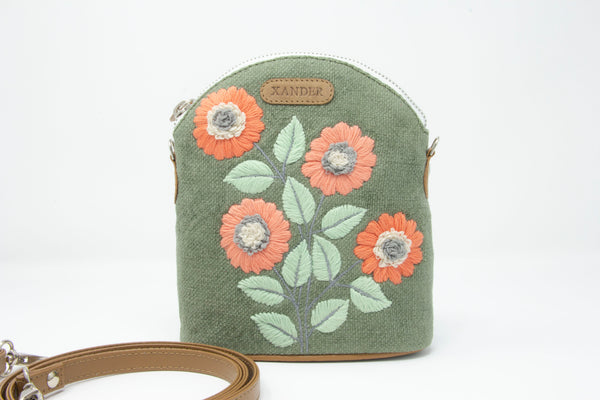 The Embroidered Sunflower Sling