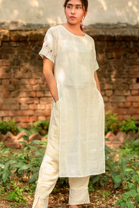 Kora embroidered tunic set