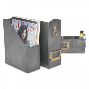 Method File Holder, Magazine Holder - Set of 2