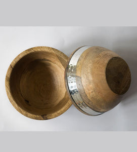 Nut Bowl Wooden Hammer Nickel