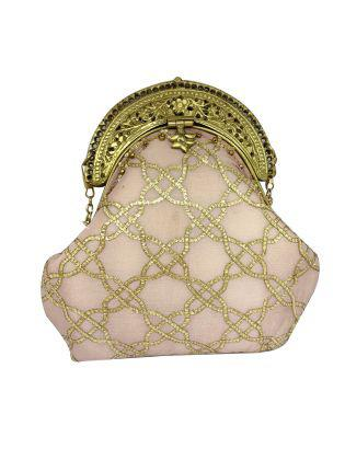 Gota pati flower taj box clutch