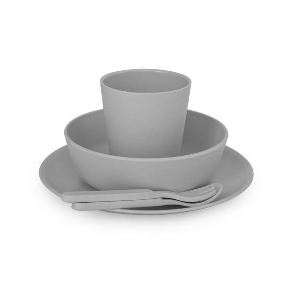 5 Piece Dinner Set - Pebble