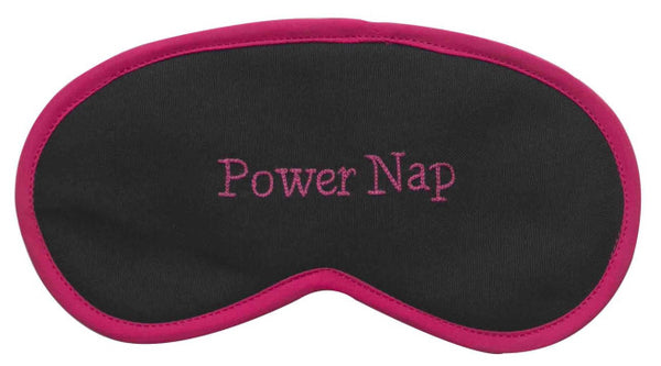 Power Nap Grey Eye Mask