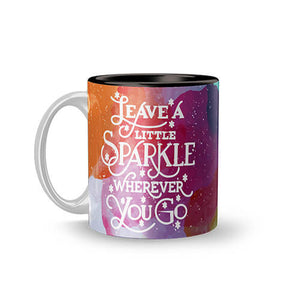 Leave A Little Sparkle Mug