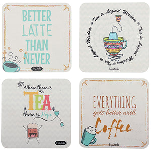 Tea vs Coffee Acrylic Coasters