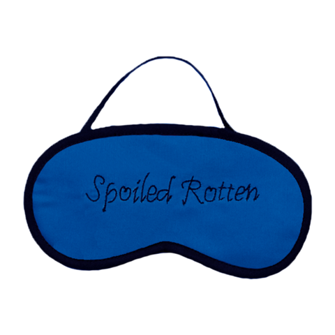 Spoiled Rotten (Blue) Eye Mask