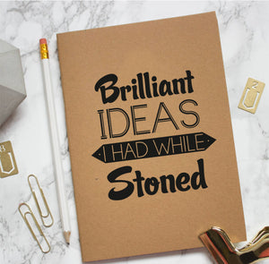 Stoned Kraft Notebook