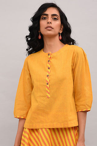 Yellow Cotton Top