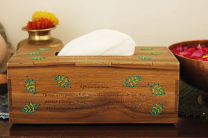 Affirmation tissue box forgiveness & awareness