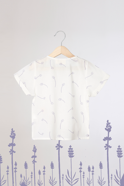 'Lavender for Luck' - Unisex Organic Cotton T-Shirt