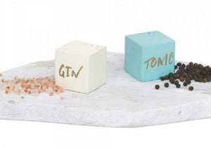 Gin and Tonic Salt and Pepper Shaker Set