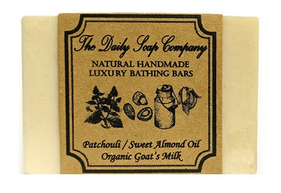 Patchouli and Sweet Almond Oil Handmade Soap