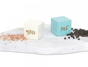 You and Me Salt and Pepper Shaker Set