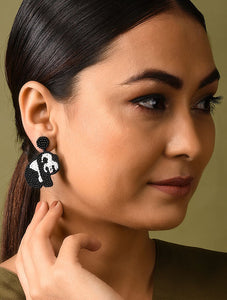 Baby Panda Earrings