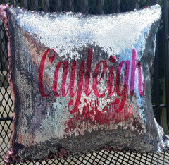 Personalized Mermaid Pillow Cover
