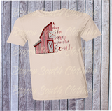 A Day at the Barn Restores the Soul, Barn Shirt, Farm Shirt, A Day at the Barn Shirt